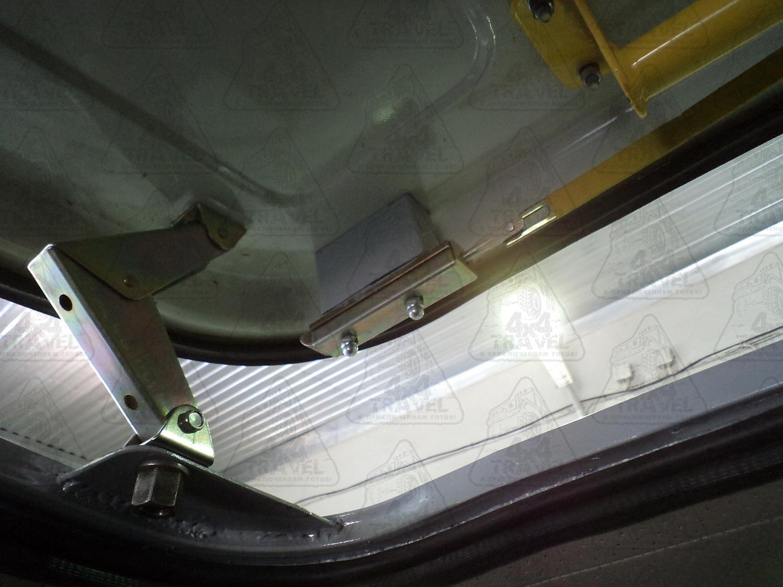 Как сделать люк на крышу автомобиля своими руками 4